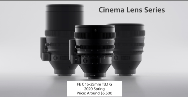 Sony Cinema Lens Series