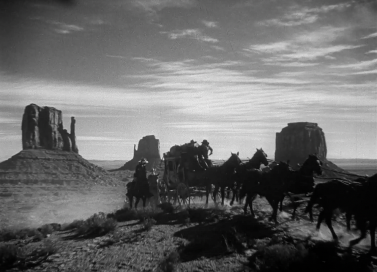 Stagecoach Cinematography