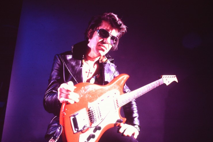 Link Wray, featured in the documentary RUMBLE