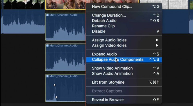 Final Cut Pro Training NO FILM SCHOOL - Audio Components