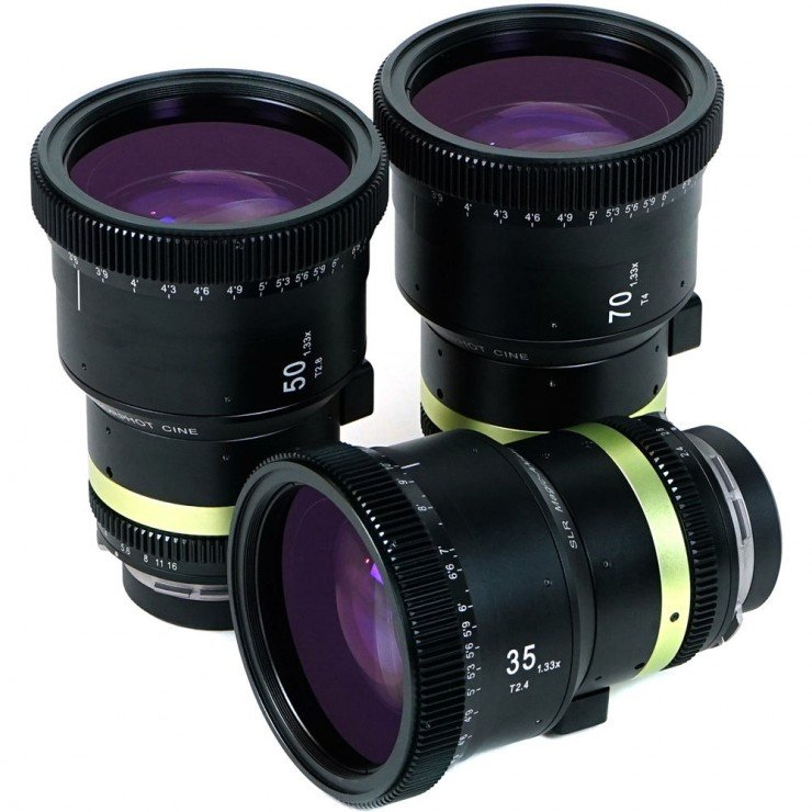 SLR Magic 1.33x Anamorphot-CINE Lens Set with 35, 50, 70mm Lenses (PL Mount)