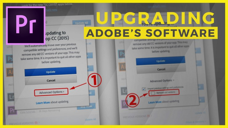 upgrade creative cloud apps