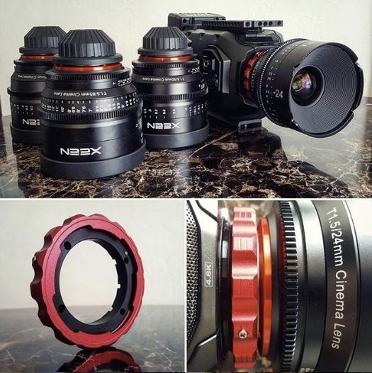 Originally designed to fit his original lens kit, the Bezamod proved to be quite versatile.