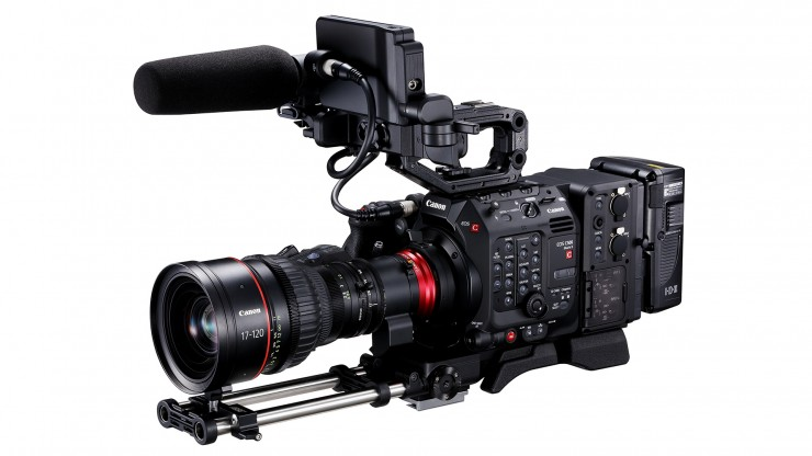 The Modular Canon C500 Mk. II fully dressed out.