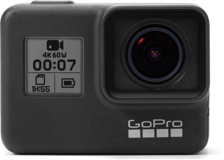 The current GoPro Hero7 Action Camera
