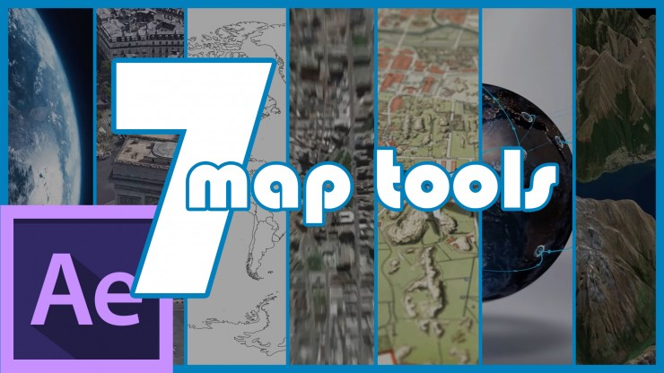 7 Map Creation Tools for Adobe After Effects