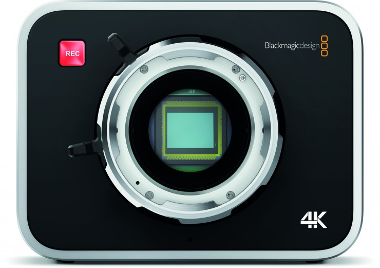 Blackmagic Production Camera 4K PL Mount No Lens