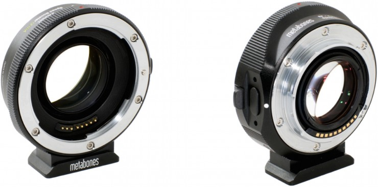 Metabones Speed Booster ULTRA Canon EF NEX Front and Back