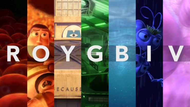 This Pixar Supercut Will Remind You Just How Important Color is in Storytelling