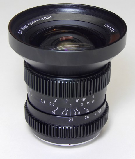 SLR Magic 10mm HyperPrime CINE