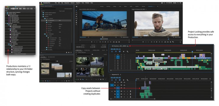 Adobe Premiere Pro's New 'Productions' Tool Explained