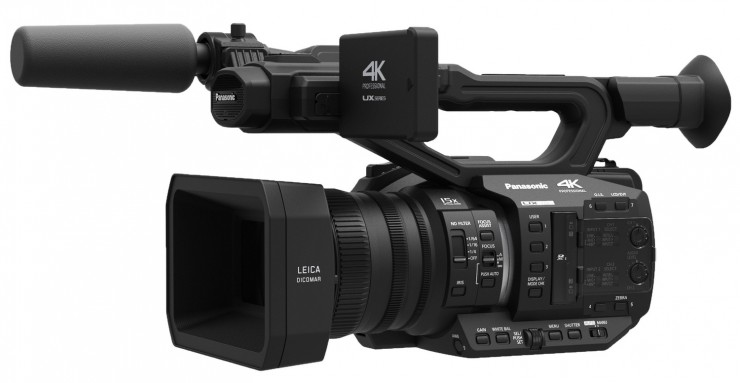 Panasonic Expands Its Line of Midrange 4K Cameras with New UX Series