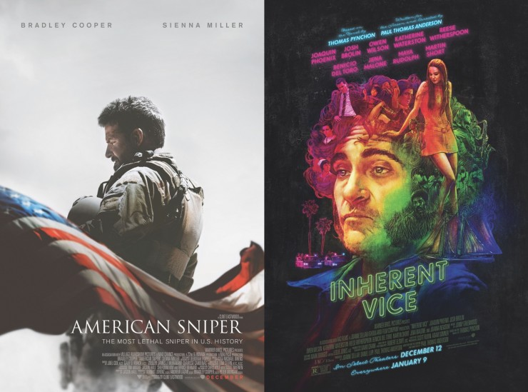 American Sniper, Inherent Vice Screenplays Available For Your Consideration