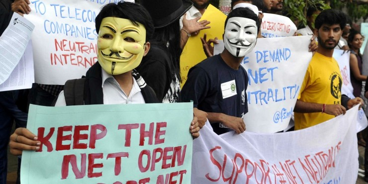 Net Neutrality Content Blocked 2016 No Film School Anonymous Protest