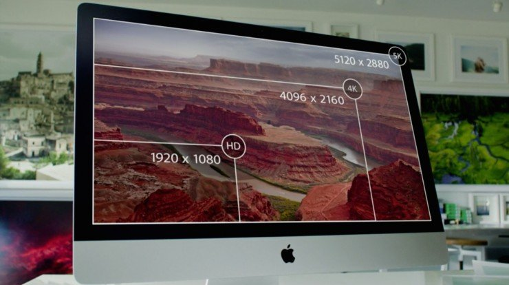 Apple 5K iMac Compared to Other Resolutions