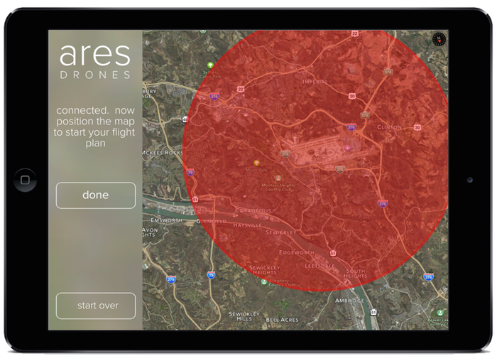 Ares Drone App Safety Features