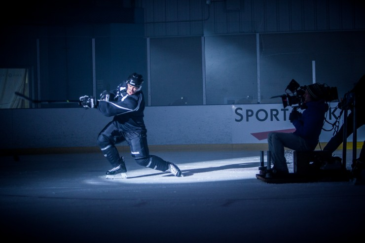 Arri Alexa, Sidney Crosby, Notch Video BTS