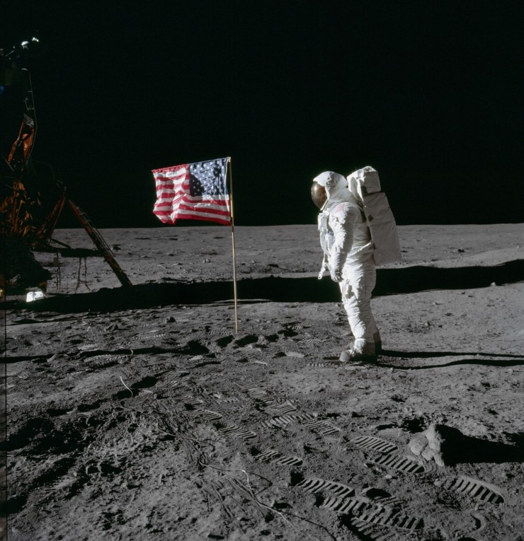 The Photos From the Moon Landing