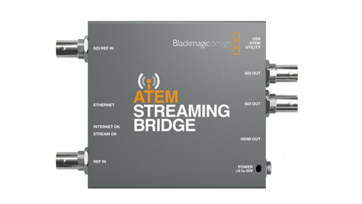 The Blackmagic Atem Mini Pro Iso Is An All In One Streaming Switcher