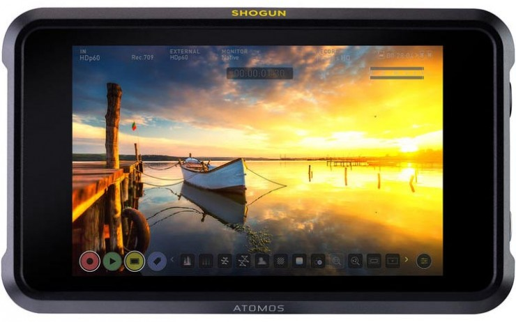 The Atomos Shogun gets double screen brightness with a new firmware update.