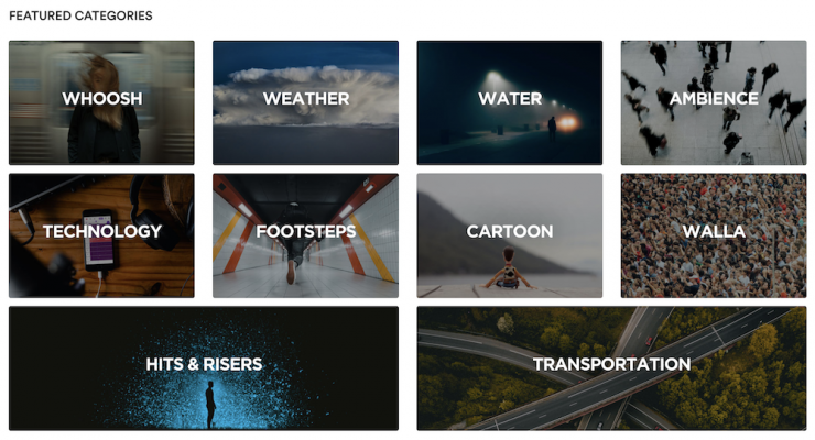 Featured Categories on Audiio