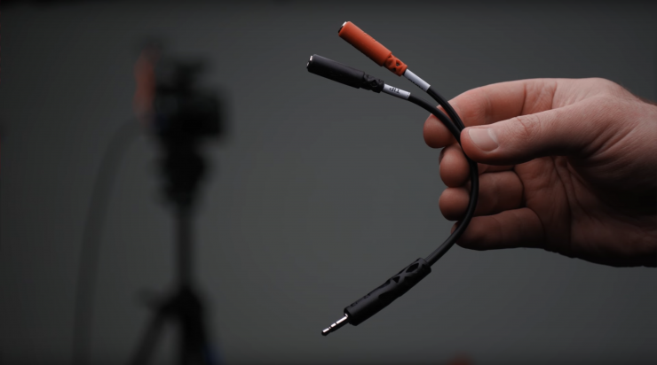 Connect Two Mics to Your Camera with This $5 Cable