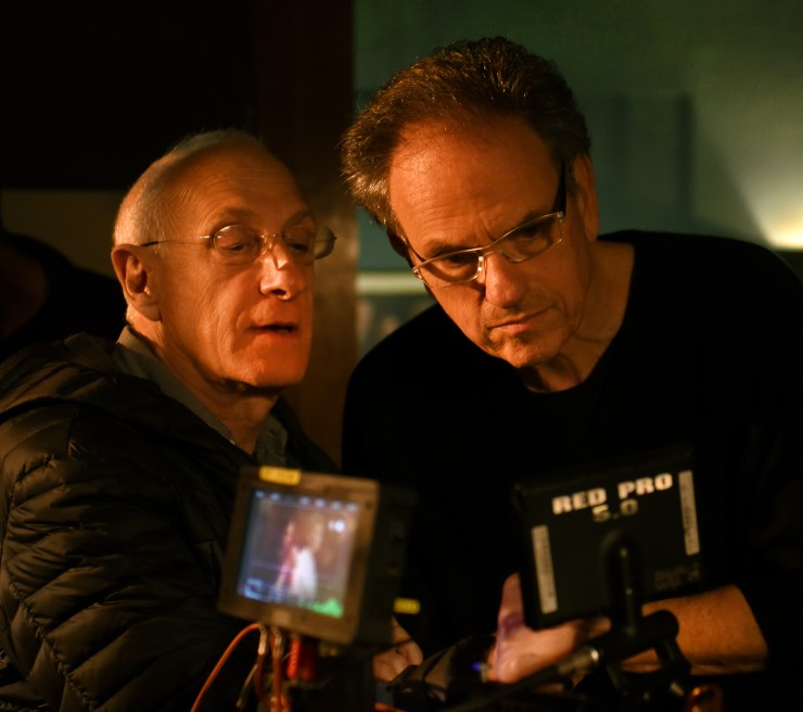 Avi Nesher and DP Michel Abramowicz
