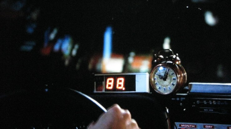88 MPH Back to the Future