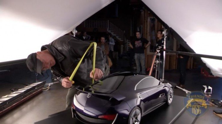Bill Bennett, ASC Creates Car Commercial Lighting