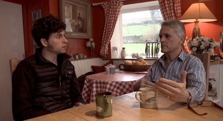 Billy and Douglas Campbell Discuss Interviewing