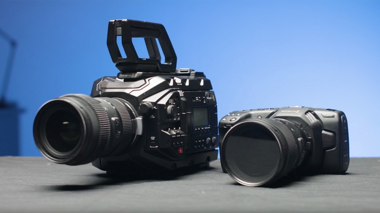 The Blackmagic URSA Mini Pro Takes On the BMPCC 4K: Which