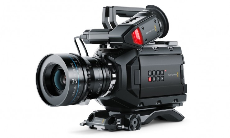 Blackmagic URSA Mini 4.6K PL Xenon Prime