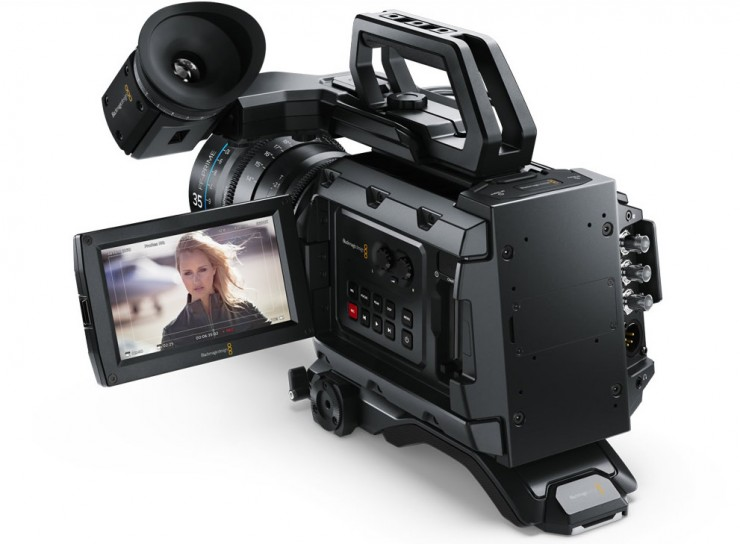 Blackmagic URSA Mini LCD Out