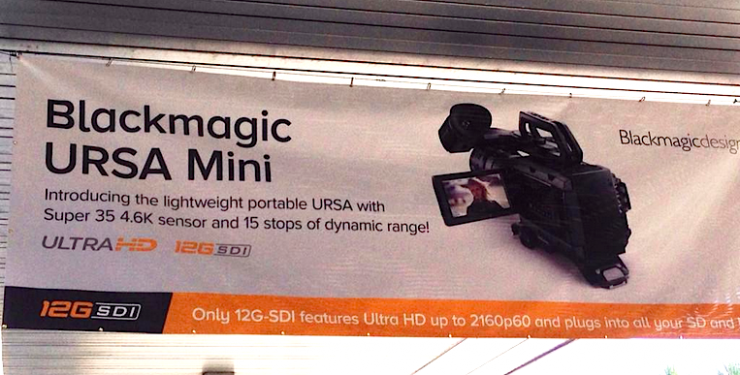 Blackmagic URSA Mini NAB 2015
