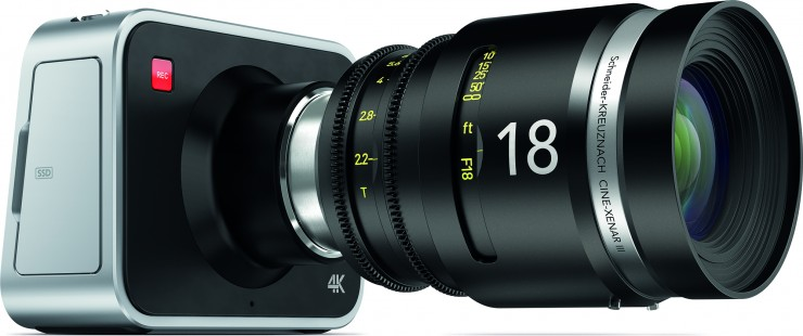 Blackmagic Production Camera 4K with Schneider 18mm