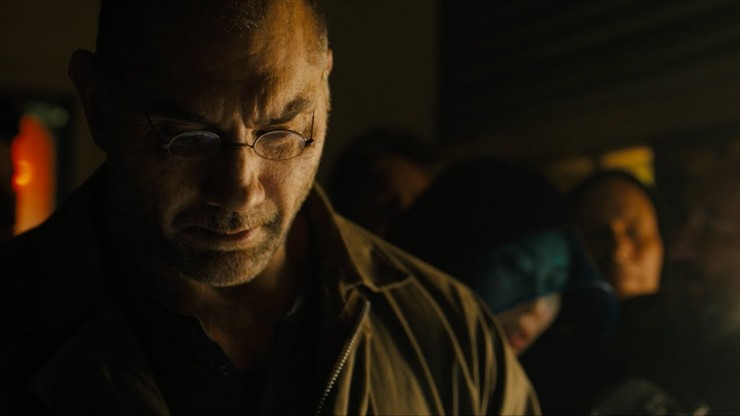 watch dave bautista has something to hide in new 39 blade runner 2049 39 prequel short. Black Bedroom Furniture Sets. Home Design Ideas
