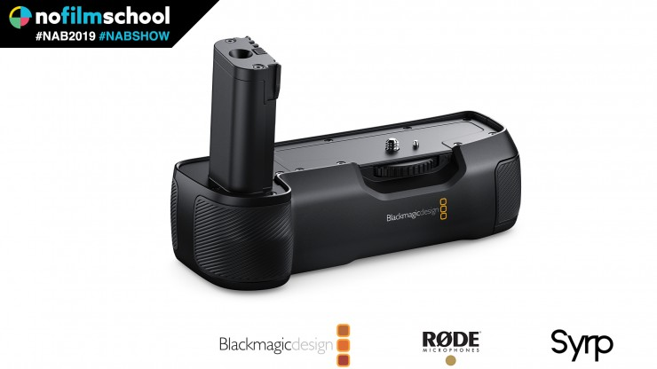 Blackmagic Announces Battery Grip For Pocket Cinema Camera 4k