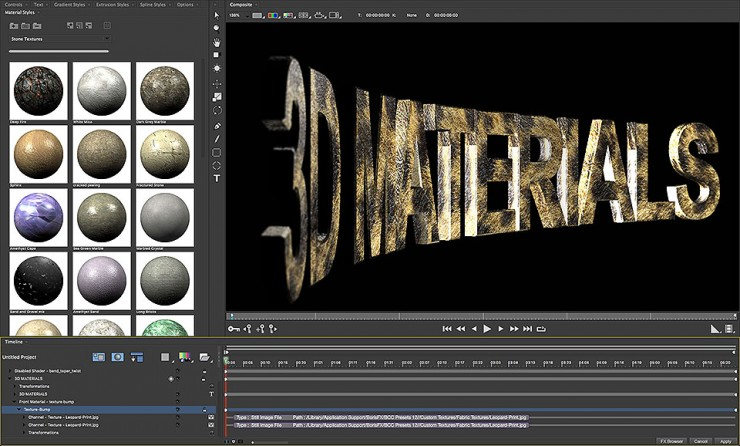 RayTracing Brings Dynamic Animated Textures to HitFilm's Titler