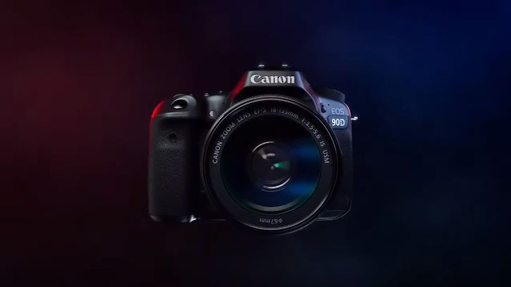 Leaked still from a promo video of the Canon 90D