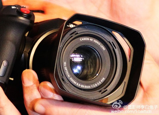 Canon 4K Video Camera with Fixed Lens 4