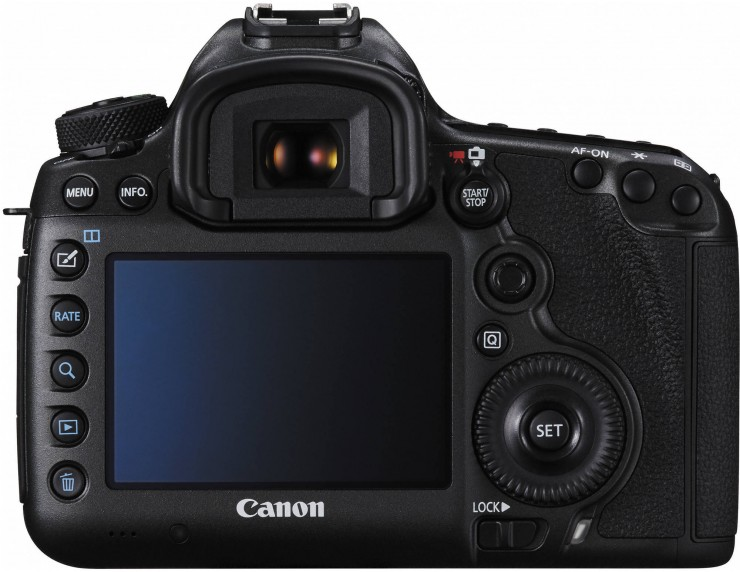 Canon 5DS Back