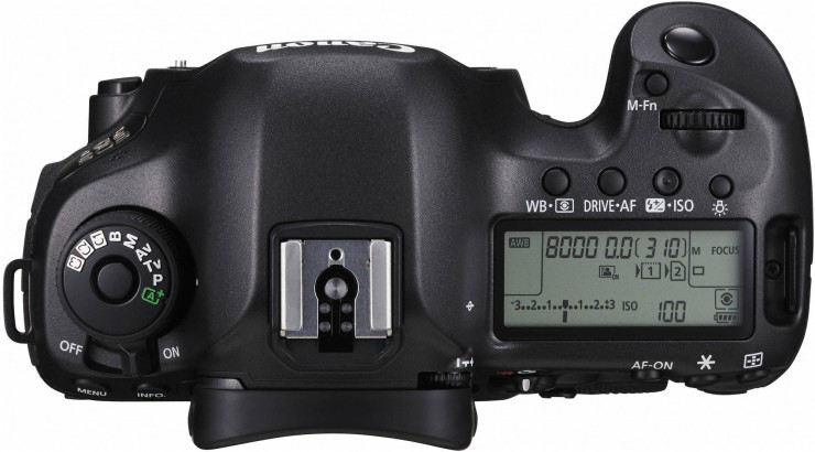 Canon 5DS Top