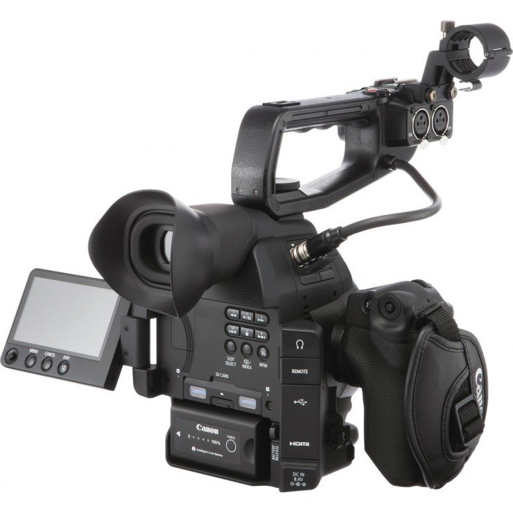 Canon C100 Mark II with Top Handle
