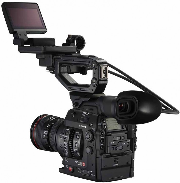 Canon C300 Mark II with LCD Back
