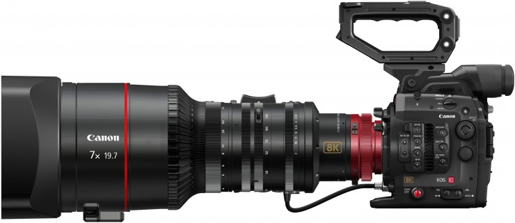 Canon Cinema EOS System 8K Camera HERO