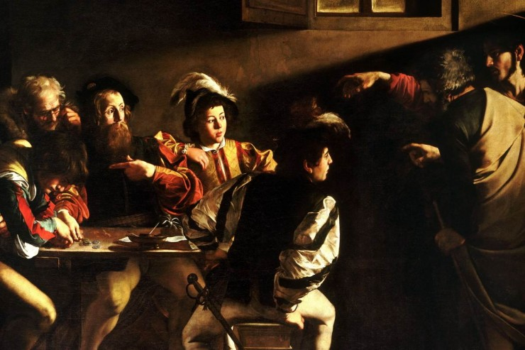 'The Calling of St. Matthew'