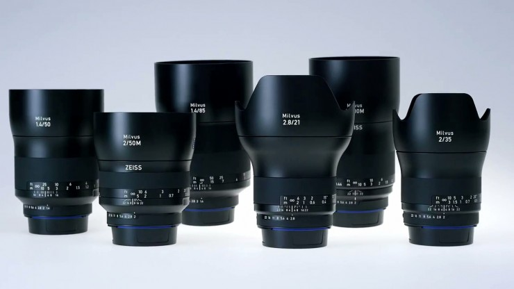 Carl Zeiss Lenses - NEW Milvus lens family