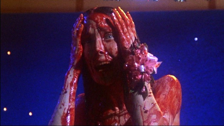Carrie in Pigs Blood