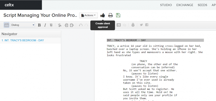 The Folly: Review: Screenwriting Software
