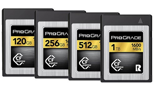 ProGrade's Recovery Compatible media cards